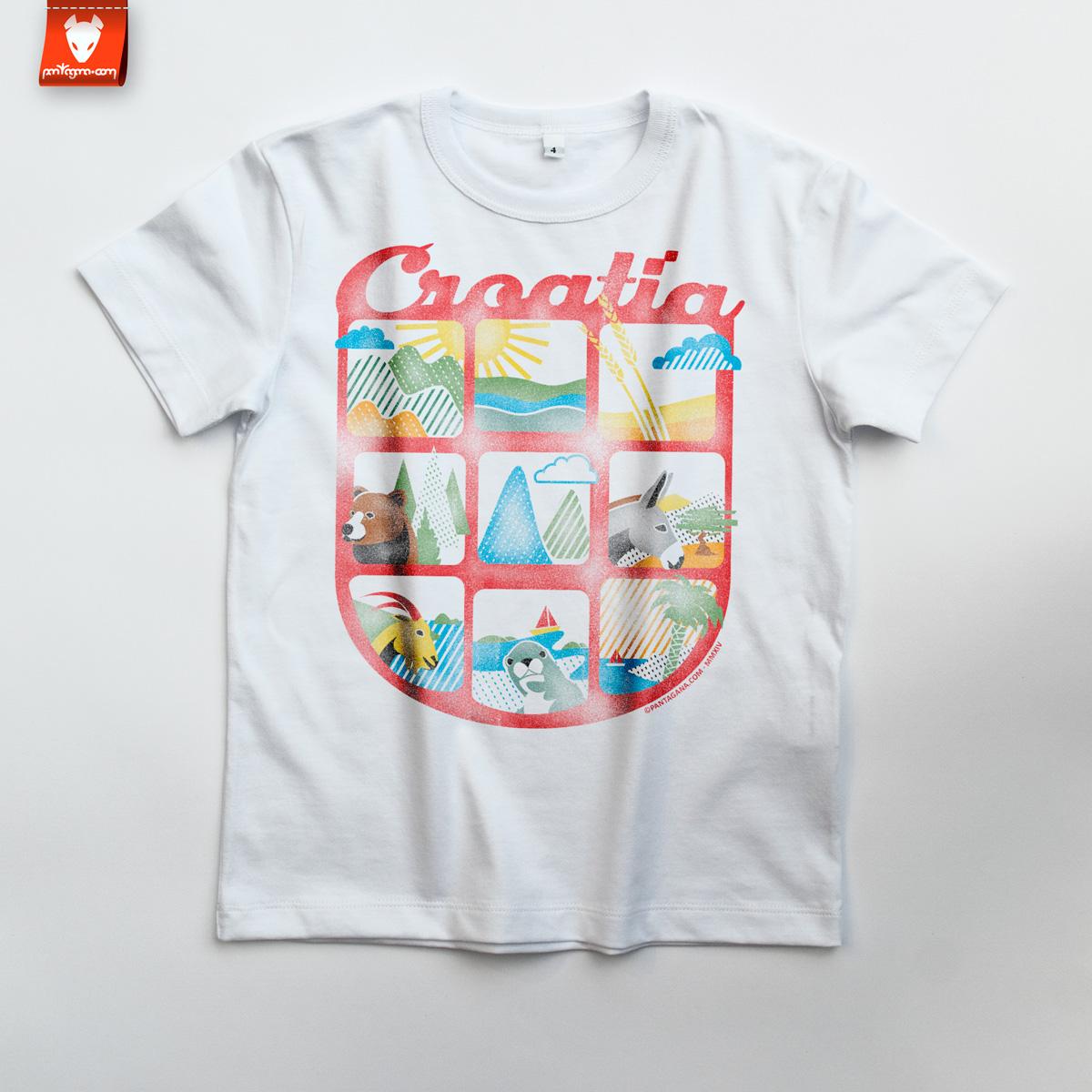 croatia-djecja-majica